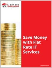 SAVE MONEY WITH FLAT RATE IT SERVICES PROMO