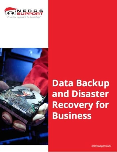 Data backup and disaster recovery for your business